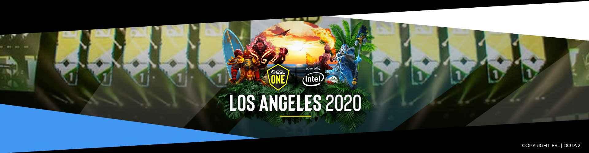 Dota 2 - ESL One Los Angeles 2020