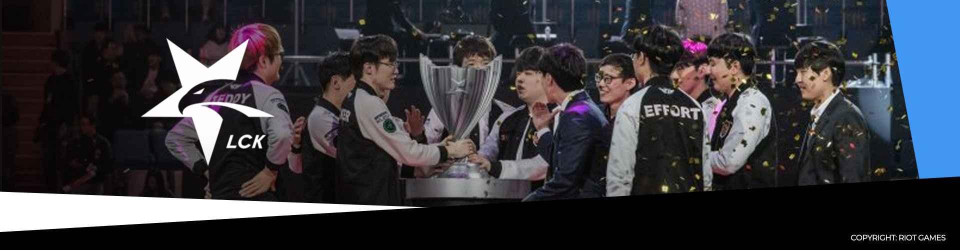 Korean LCK-liiga tauolle Korona-viruksen takia