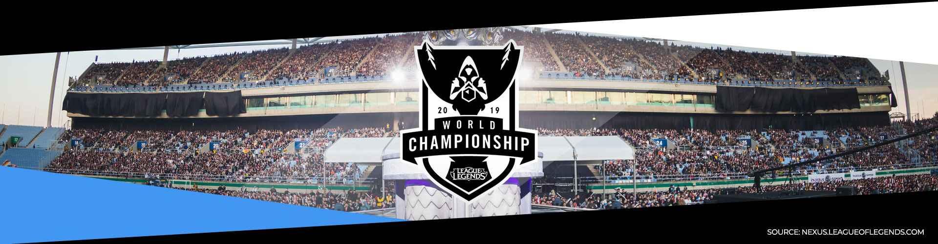 League of Legends Worlds-maailmanmestaruuskilpailut 2019