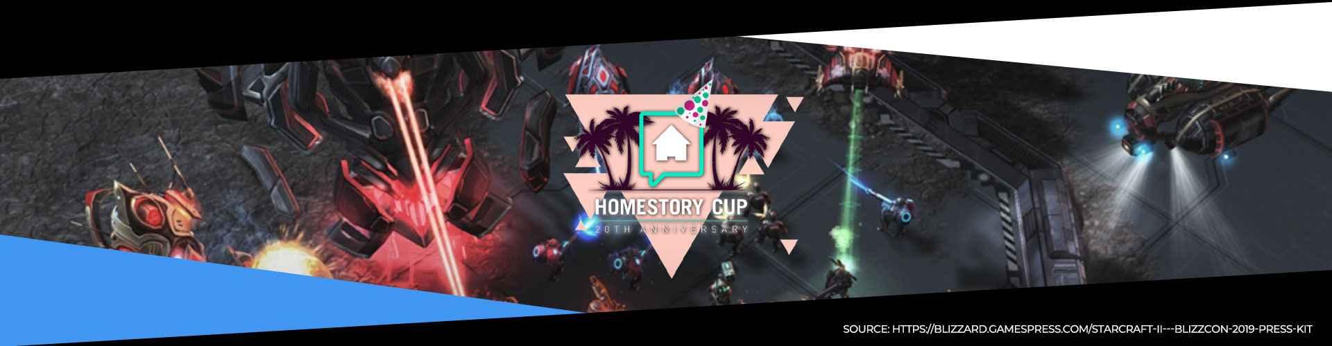 Starcraft 2 - Homestory Cup 20